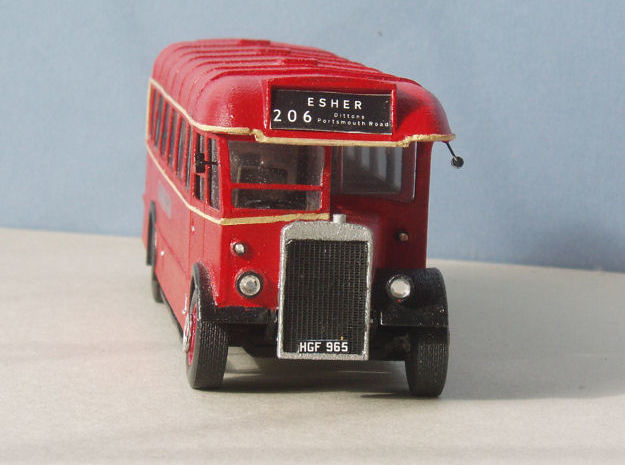 1:43 London Transport TD (TD1-TD31) Bus 3d printed