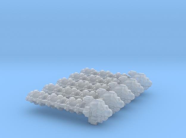 Transportship Alpha (5 models) in Smooth Fine Detail Plastic