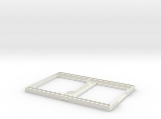 "3.2"" TFT Sainsmart Displayhousing bottom in White Strong & Flexible"