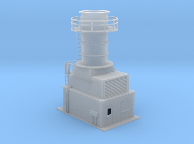 Sub Station Gas Turbine Generator N Scale