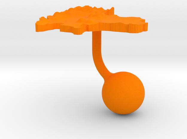 Thailand Terrain Cufflink - Ball 3d printed
