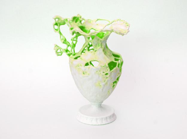 Floralia green 3d printed