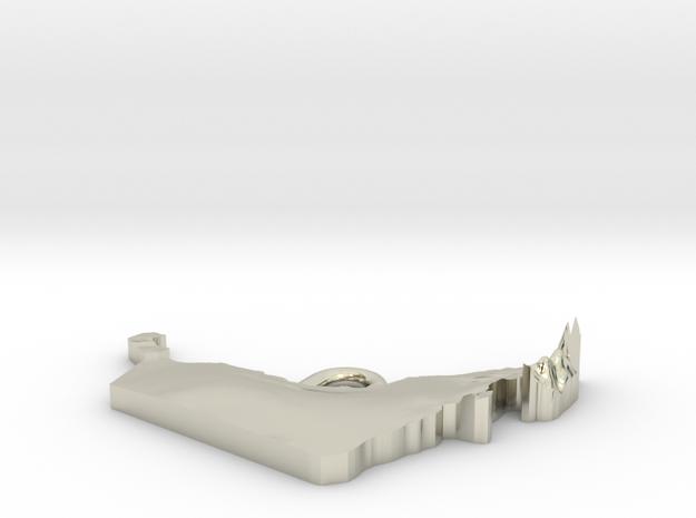 United Arab Emirates Earring 3d printed