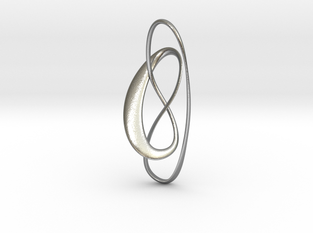 Noeud in Natural Silver