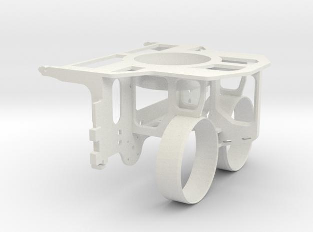 OpenROV V2.6 Inner Structure in White Natural Versatile Plastic