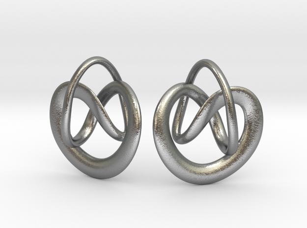 Noeuds in Natural Silver