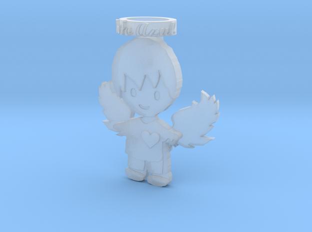 Pendant Frozen Detail Blue Angel Boy in Frosted Ultra Detail