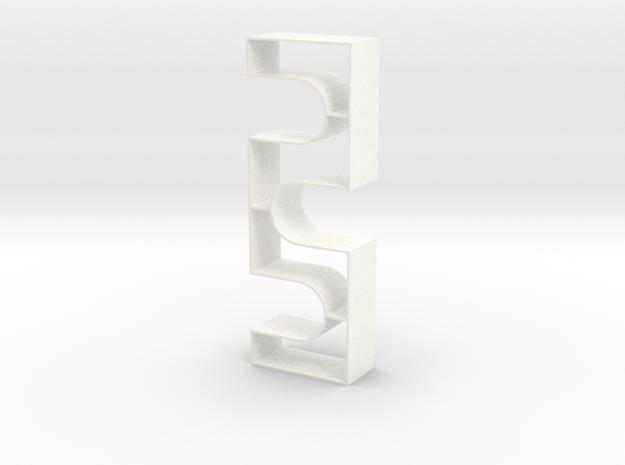 Repeat 1:12 scale Bookshelf 3d printed