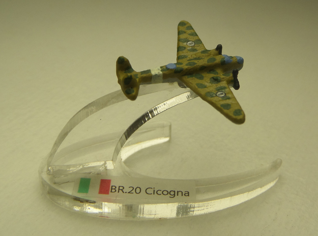 Fiat BR.20M Cicogna 1:900 in White Natural Versatile Plastic