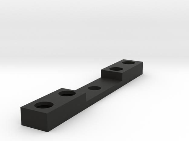Bruder Delta Loader: Rear lights mount in Black Natural Versatile Plastic