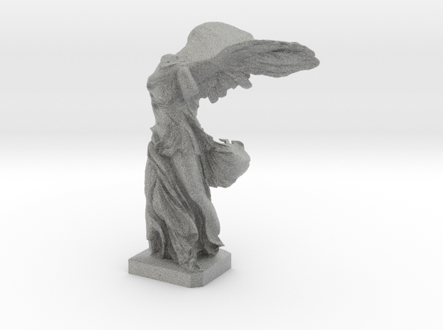 "Winged Victory (10"" tall) 3d printed"