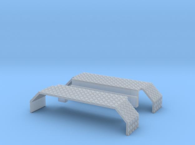 Kotflügel mit Riffelblech für Herpa Zetros in Smooth Fine Detail Plastic