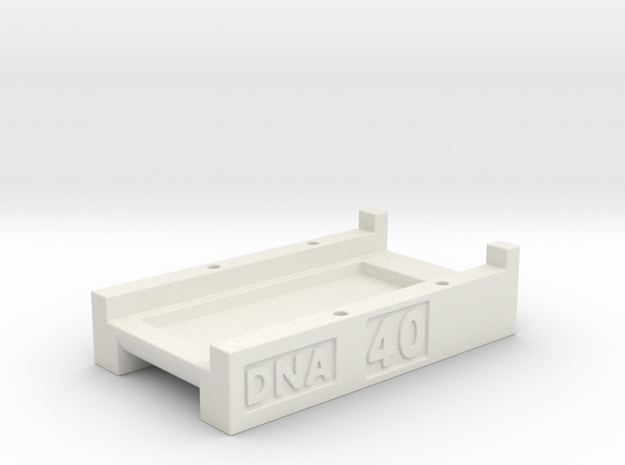 DNA 40 CHIP MOUNT LARGE SCREEN V1 in White Natural Versatile Plastic