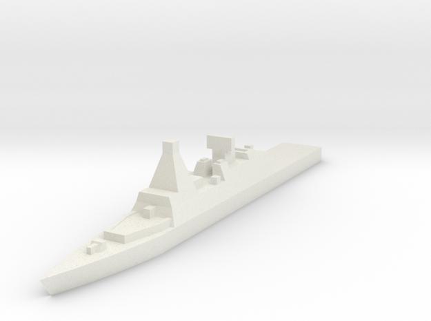 Naval, Cruiser, Generic in White Natural Versatile Plastic