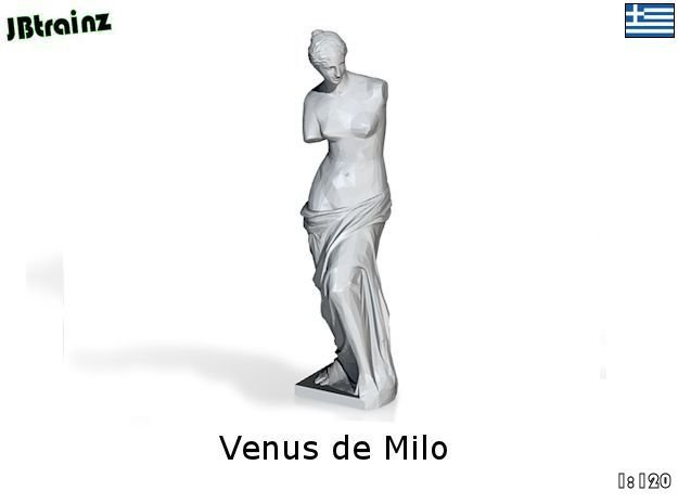 Venus de Milo (1:120) in Frosted Ultra Detail