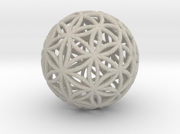 3D 33mm Orb Of Life (3D Flower of Life)
