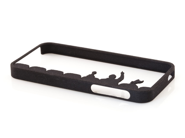 Mystery Science Theater 3000 iPhone 5 / 5s Case in Black Natural Versatile Plastic