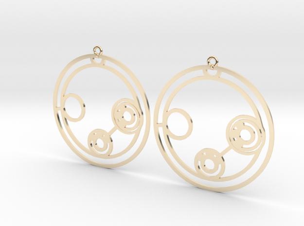 Lillian - Earrings - Series 1 in 14K Gold