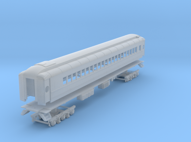 D&H heavyweight coach with original windows in Smooth Fine Detail Plastic
