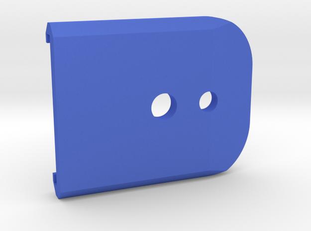 Magazine Base Hi-capa 4.3 - Plain in Blue Processed Versatile Plastic