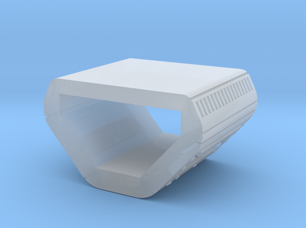 Peggie Engine Insert - No Plates in Smooth Fine Detail Plastic