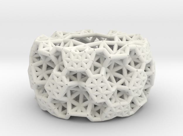thick bracelet in White Strong & Flexible