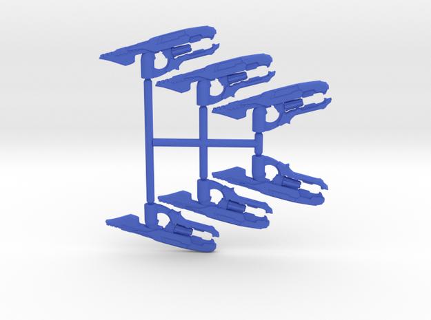 Plasma Disruption Rifle Pack in Blue Processed Versatile Plastic