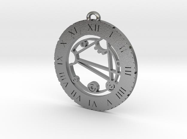 Keziarose - Pendant in Natural Silver