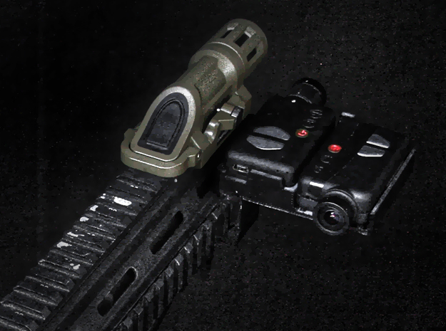 Mobius 2X Camera Side-by-Side Rail Mount Right