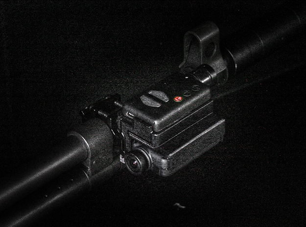 Mobius 2X Camera Stacked Rail Mount Right