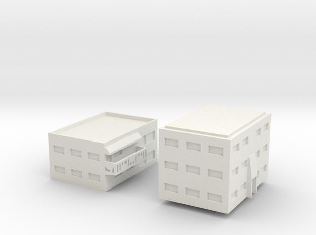 "Apartment ""C"" Modular Series 1 in White Strong & Flexible"