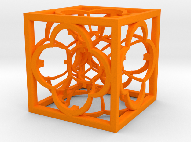 Hyper Menger K5 100mm in Orange Processed Versatile Plastic