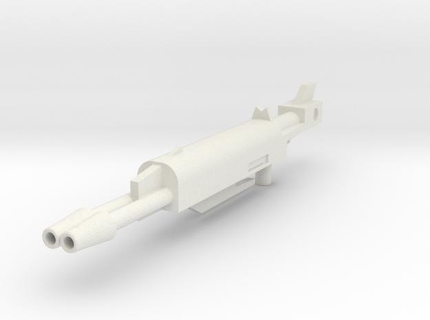 Generations Leader Class Skyfire G1 Rifle Big in White Natural Versatile Plastic