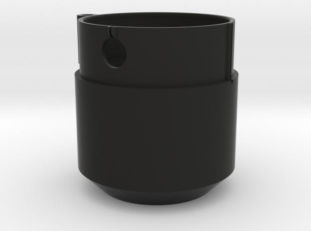 Nikon F-mount Cascade Tube Adapter Flange in Black Strong & Flexible
