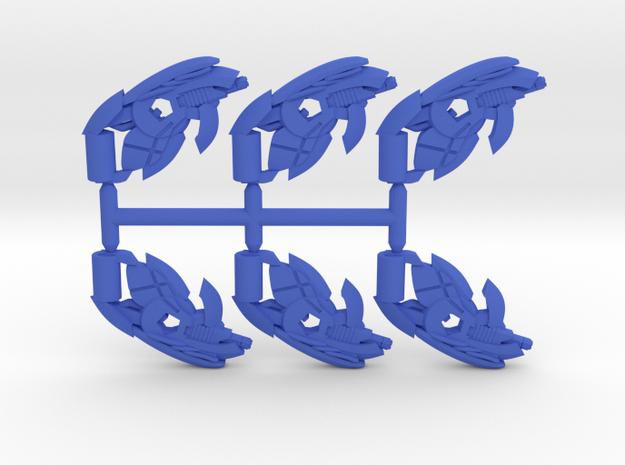 Plasma Coil SMG Pack in Blue Processed Versatile Plastic