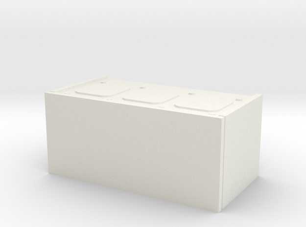 1/16 scale Firefly Radio Box in White Strong & Flexible