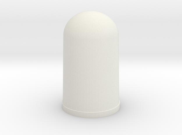 Apollo A7L Glove Tip - PINKIE in White Natural Versatile Plastic