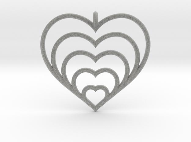 Hearts Within Hearts Pendant