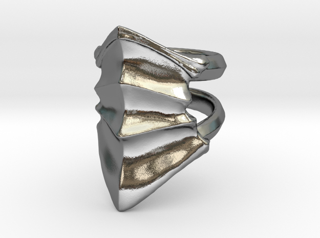Armor020 in Polished Silver