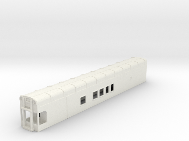N Scale Rocky Mountaineer B Series 4'9 Platform in White Natural Versatile Plastic