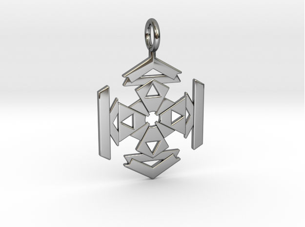 CELTIC FLOWER in Premium Silver