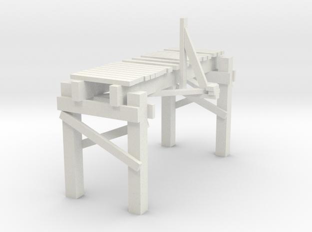 3 In Picturesque Wood Bridge 3d printed