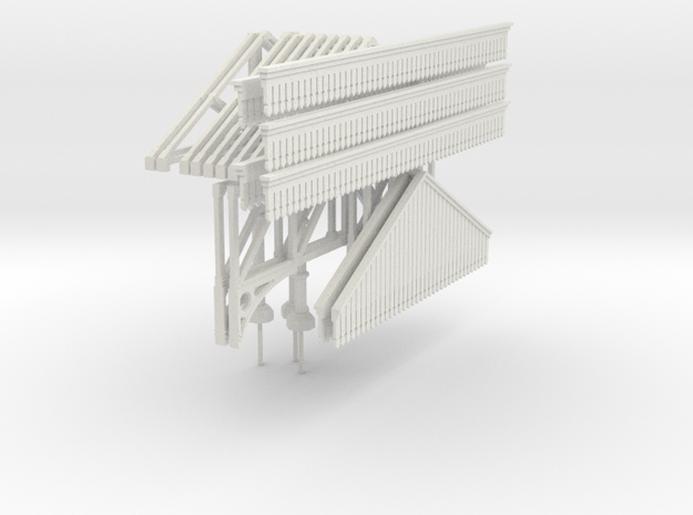 Platform Canopy 280mm long (without roof)