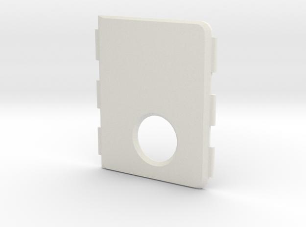 Mark VII cover in White Natural Versatile Plastic