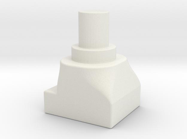 Assem1 - V2Foot-1 in White Natural Versatile Plastic