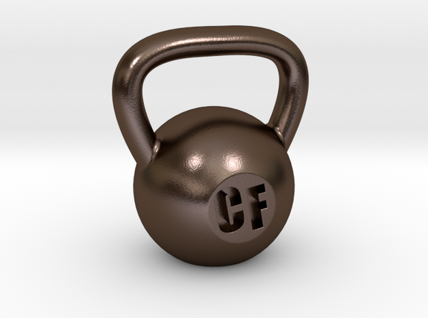 Crossfit Kettlebell Weight Pendant and Keychain