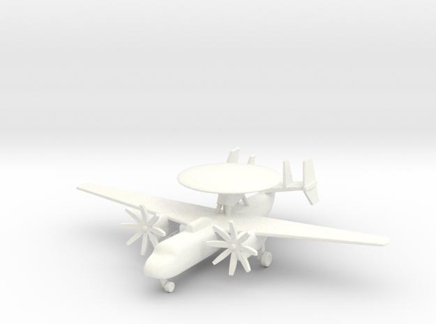 1/285 (6mm) E-2 Hawkeye  3d printed