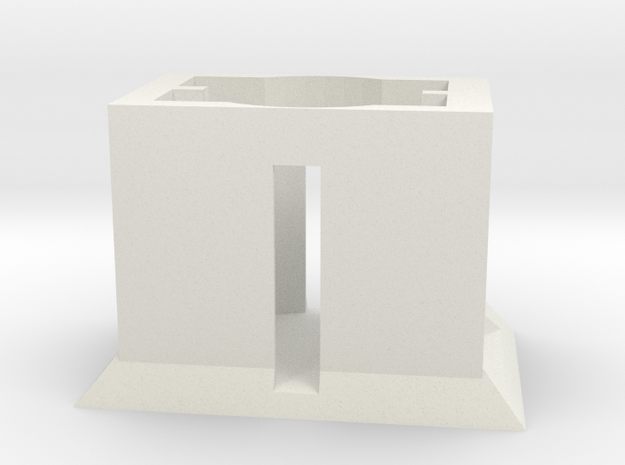 Powder Packet Stand (shop test) in White Natural Versatile Plastic