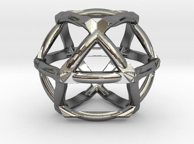 COSMIC VECTOR (pendant) in Premium Silver