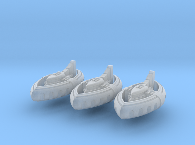 Niccassar Dhows (3) 3d printed